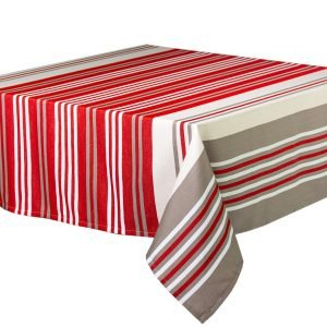 Nappe carré Lotus flower rouge