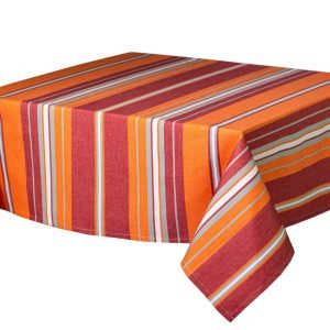 Nappe Collection Corail couleur orange/rouge