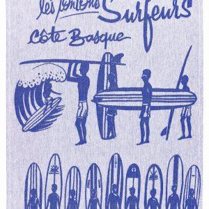 Torchon jacquard Surf